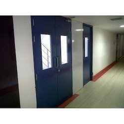 Powder Coating Clean Room Doors
