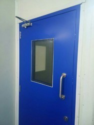 Puf Insulation Clean Room Door