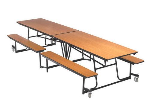 Rectangular Shape Cafeteria Table