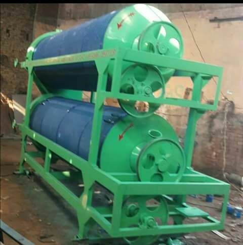 Double Cylinder Rice Grader