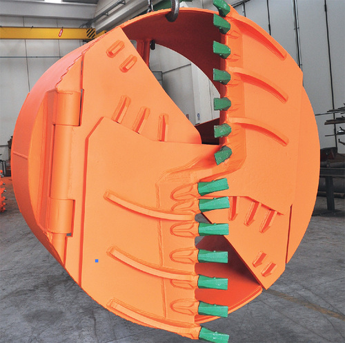 Robust Structure Drilling Bucket