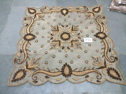 Embroidery Table Cover in  Baradari
