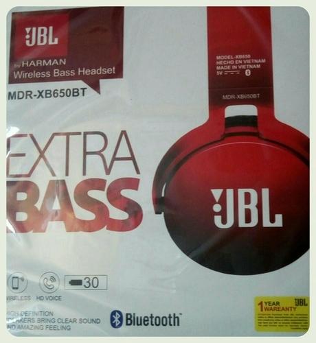 JBL Wireless Bluetooth Headphones (MDR-XB650BT)