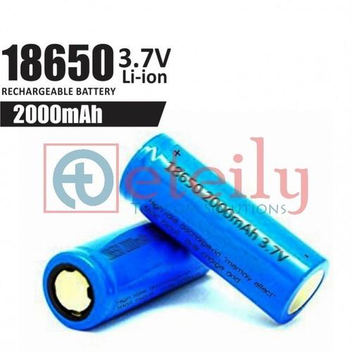 18650 Li-Ion Battery Cell (2000 Mah)