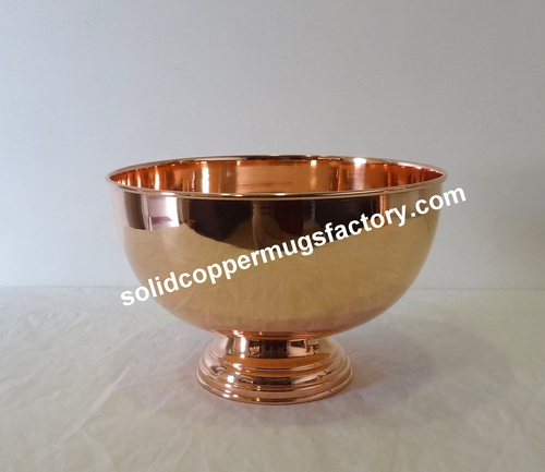 Copper Fruit Bowl in  Lal Masjid