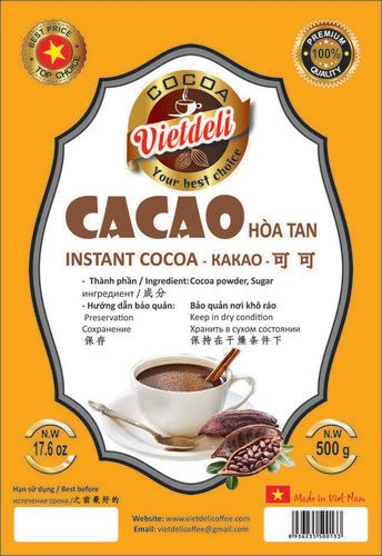 Instant Cocoa Powder Shelf Life: 24 Months