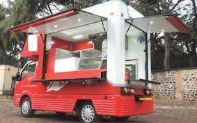 High Quality Electric Food Van For Fast Food