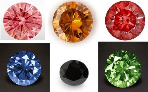Attractive Natural Colored Diamonds Diamond Clarity: Ws1
