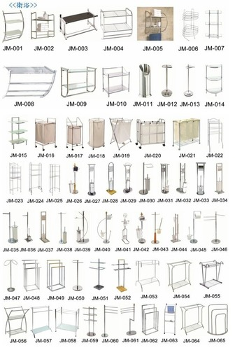 Stainless Steel Bathroom Stands