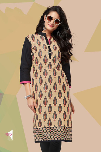 Ladies Fancy Printed Kurti