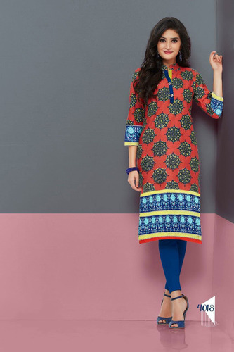 Ladies Trendy Printed Kurti