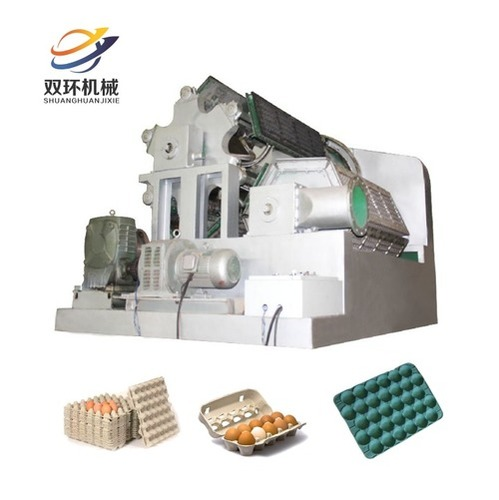 Double Rolling Paper Egg Tray Making Machine