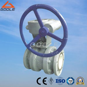 Gear Operated Ceramic Lined Floating Ball Valve (GQ341TC)