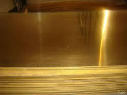 High Grade Brass Sheet