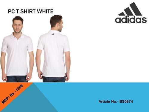 Men Cotton Polo T- Shirt (Adidas)