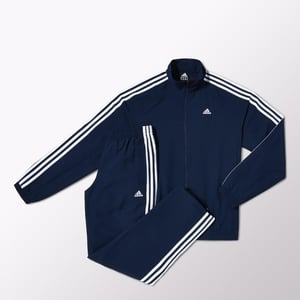 Navy Blue and White Tracksuit (Adidas)