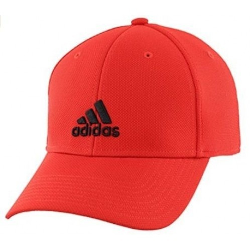 Red Polyester Cap (Adidas)