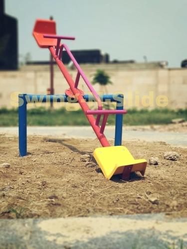 Playground Kids See Saw