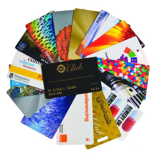 Colorful Plastic Cards