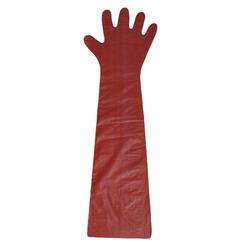 Plastic Disposable Veterinary Gloves