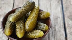 Finely And Clean Packaged Gherkins