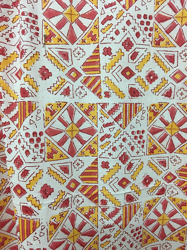 Traditional Hand Block Print Fabric