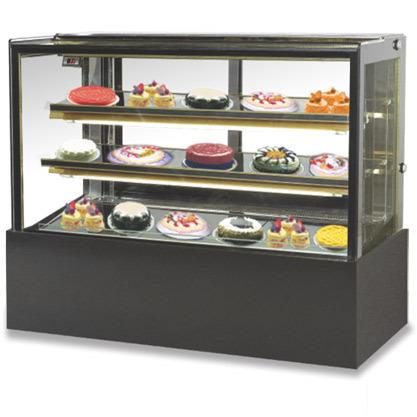Celfrost Flat Glass Cold Showcase (Base + 2 Shelves) - Csf 42