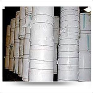White Cylindrical Stocklot Paper