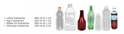 Disposable Stylish Pet Bottles