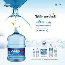 Fresh Mineral Drinking Water