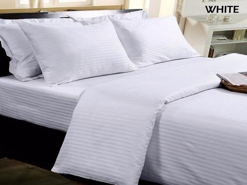 White Cotton Hotel Linen