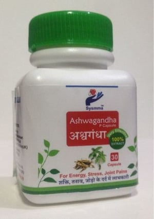 Ashwagandha P Capsule For Energy, Stress And Joint Pains