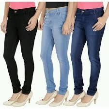 Customized Size Ladies Jeans