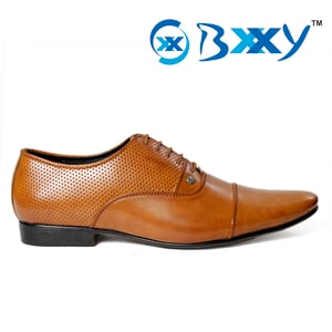 Formal Tan Colour Shoes With PU Sole