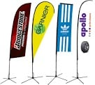 Custom Made Print Promotional Flags