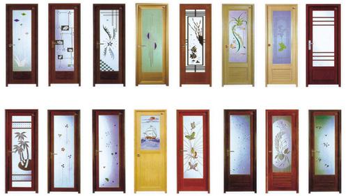 Fine Finish PVC Glass Door