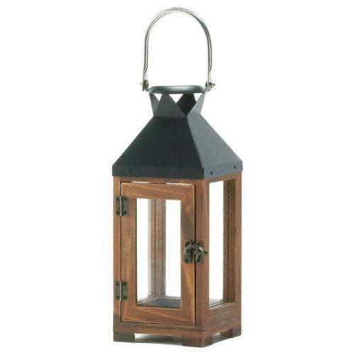 Fine Finish Wooden Lanterns