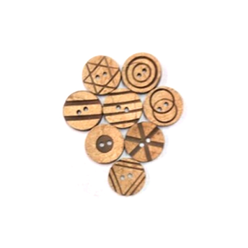 Shirt Wooden Buttons