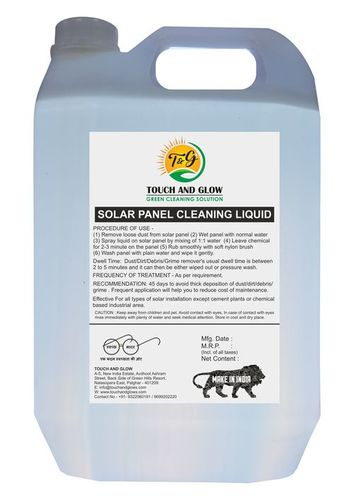 Solar Panel Cleaner Tspc2 (Solar Panel Cleaning Liquid For Regular Use)