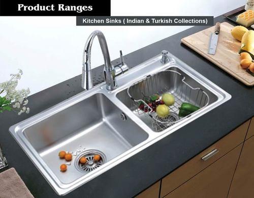 Surprising Double Bowl Kitchen Sink At Best Price In Thrissur Kerala Interior Design Ideas Truasarkarijobsexamcom