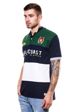 Embroidered Polo T Shirt