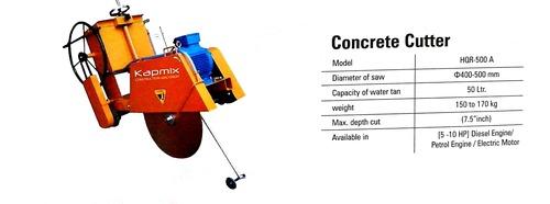 Industrial Concrete Cutter Machine
