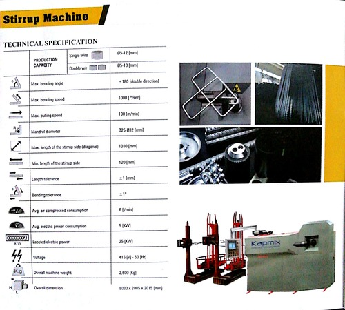Industrial Stirrup Bending Machine