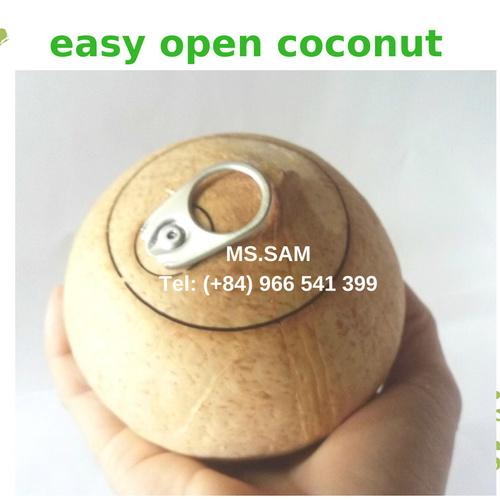 Mild Sweet Open Coconut Water