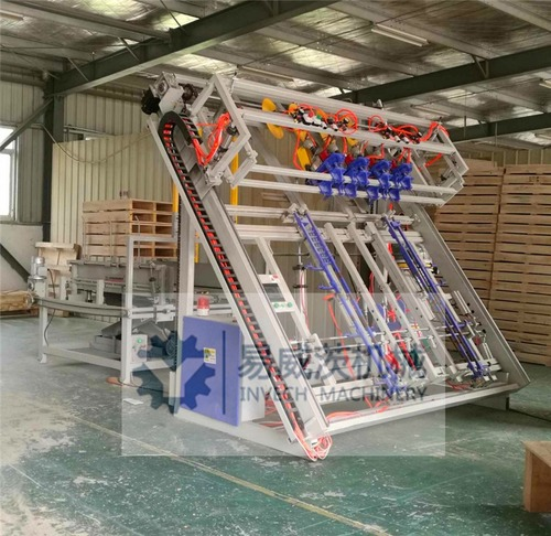 US Stringer Pallet Nailing Machine with Stacker