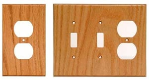 Wooden Electric Switch Board