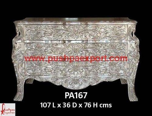 White Metal Chest Drawer