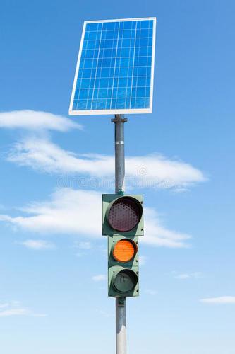 Qualitative Energy Efficient Solar Powered High Quality Traffic Light