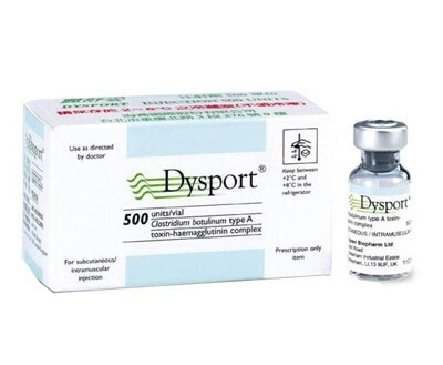 Dysport 500Iu Injection Age Group: Adults