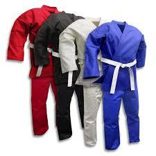 Plain And Colorful Martial Art Uniforms